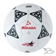 balon mikasa futbol la estrella #5 black-white
