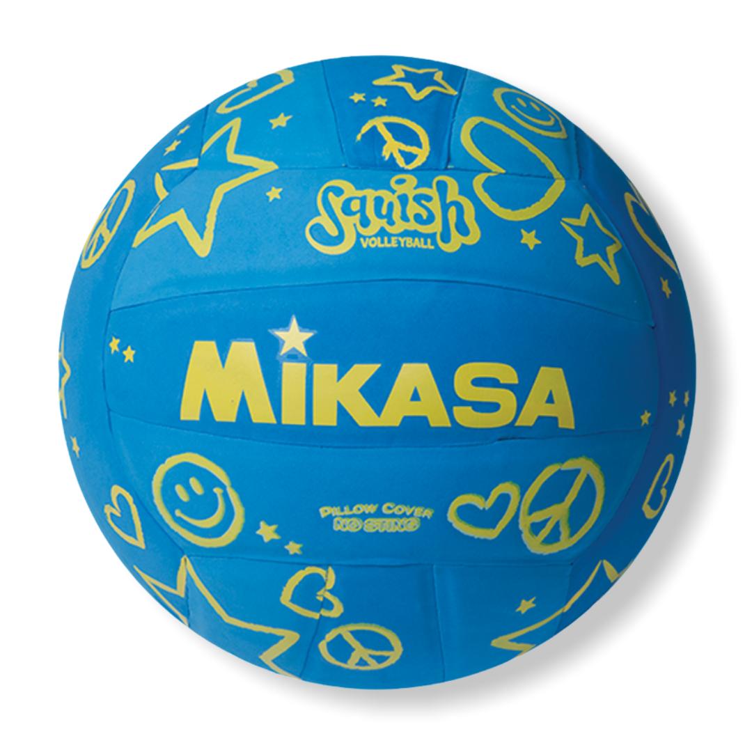 BALON MIKASA VOLLEYBALL BLUE-YELLOW VSV106-B
