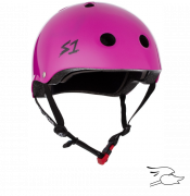 casco s-one mini lifer bright purple gloss