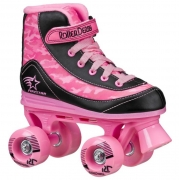 PATINES ROLLER DERBY FIRESTAR PINK-BLACK