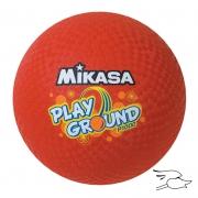 """pelota mikasa playground 10"""" red"""