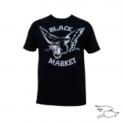 CAMISETA BLACK MARKET MENS FLYING PANTHER