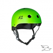 casco s-one lifer bright green matte