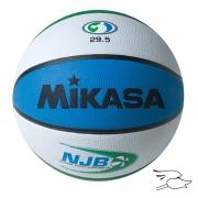 "balon mikasa basketball njb vulcanized rubber 29.5"" bx1000njb"