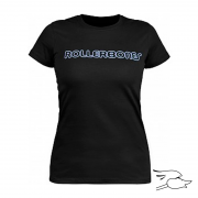 CAMISETA RAT BONES NEON LOGO LADIES BLACK