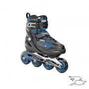 patines roces moody 4.0 boys black-astro blue