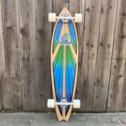 monopatin layback soul ride blue pin tail