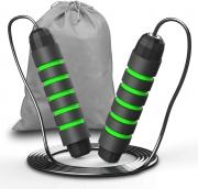 cuerda para salto tinmarda black-green