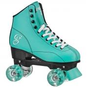 patines roller derby candi sabina mint-black