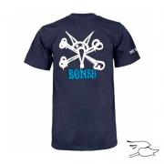 camiseta rat bones youht navy