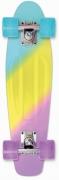 monopatin street surfing plastic cruiser beach board spectrum color hype