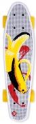 monopatin street surfing plastic cruiser pop board banana