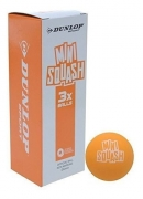 bola dunlop squash play mini orange unidad