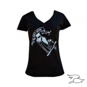 camiseta black market womens cant stop v-neck