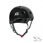 casco s-one mini lifer black gloss