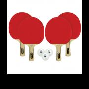 combo mk ping pong cyclone 4 player set
