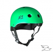 casco s-one mini lifer br. grn matte