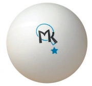 bolas mk ping pong 1 star 40mm white
