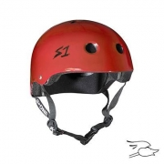 casco s-one lifer scarlet red gloss