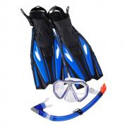 combo leader baja super kit sr. silver-blue (sin snorkel)