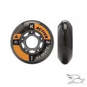 ruedas k2 72mm 80a 4 pk