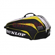 thermobag dunlop biomimetic 10 raqueta. yellow