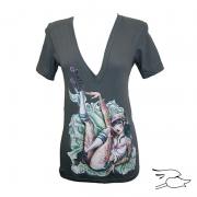camiseta lowbrow womens skate or die deep