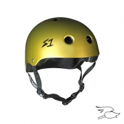 casco s-one lifer metallic gold