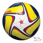 balon mikasa futbol flight #4 navy-yellow-white