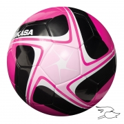balon mikasa futbol flight #4 pink-black