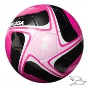 balon mikasa futbol flight #5 pink-black