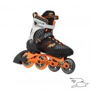 patines k2 alexis x pro tangerine-black