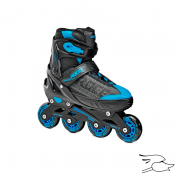 patines roces jokey boy black-blue