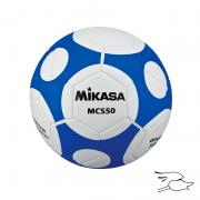 balon mikasa futbol mcs #5 white-blue mcs50-wb