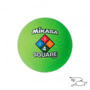 balon mikasa four square neon-green p850