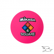 balon mikasa four square pink p850