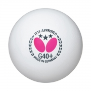 bolas butterfly ping pong 3 star g40+ whiite x 12