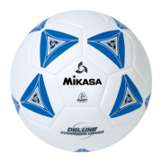 balon mikasa futbol deluxe #5 blue-white ss50-b