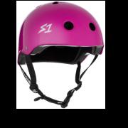 casco s-one lifer bright purple gloss