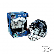 CASCO MYLEC HOCKEY CON MALLA SR. BLACK
