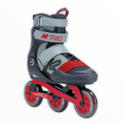 patines k2 trio 100 gray-red