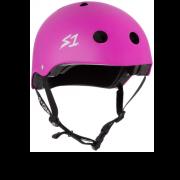 casco s-one lifer bright purple matte