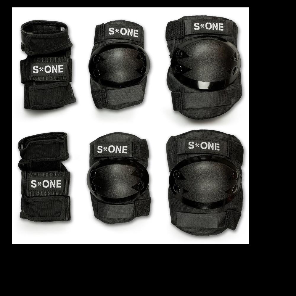 PROTECCION S-ONE STARTER PAD SET X 3 (RODILLERAS, CODERAS, MUÃ?EQUERAS)