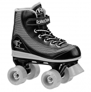 patines roller derby firestar boys black-grey