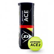 bolas dunlop tennis ace allcourt 3b