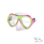careta leader belize jr. neon-pink-lime-green