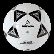 balon mikasa futbol deluxe #5 black-white ss50