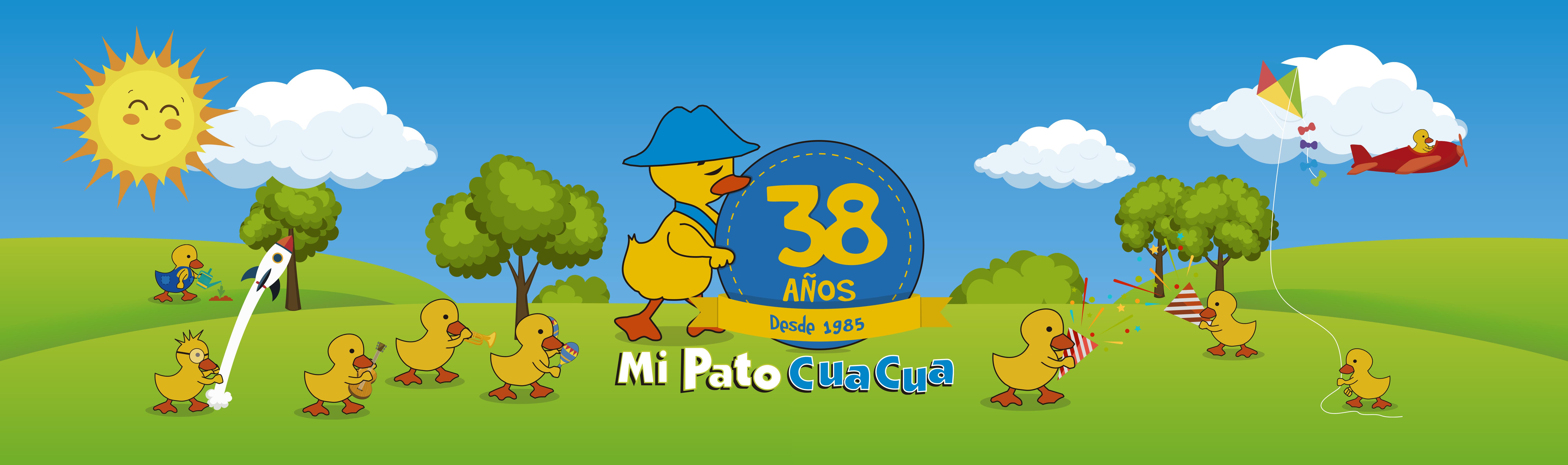 36 años de fundado el Jardín infantil Mi Pato Cua Cua en Bog