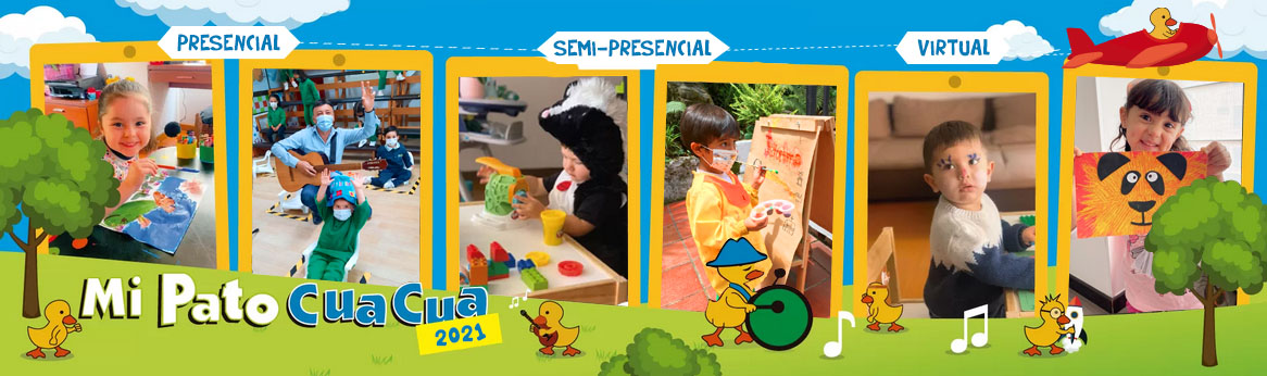 Jardin Infantil con jornada Presencial, Semi-presencial y Vi