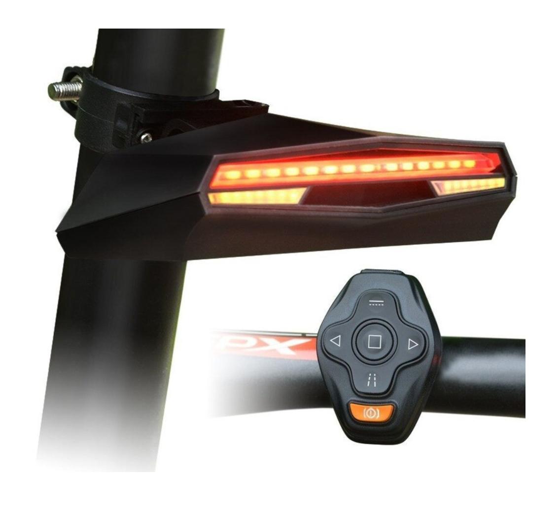 Direccionales Bicicleta - Seguridad vial